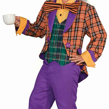 Mad Hatter Halloween Costume for Adults
