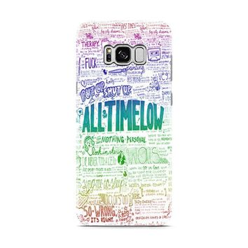 All Time Low Art Quotes Samsung Galaxy S8 | Galaxy S8 Plus Case