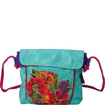 Laurel Burch Laurels Garden Flap Over Crossbody