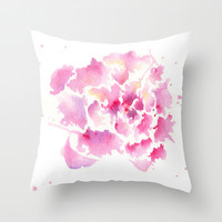 Embrace Throw Pillow by Susaleena