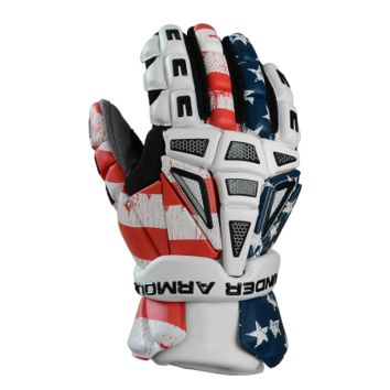 Under Armour FREEDOM Lacrosse Gloves in Team USA | Lacrosse Unlimited