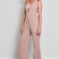 Taupe Dream Jumpsuit
