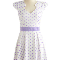 Story of Citrus Dress in Lilac