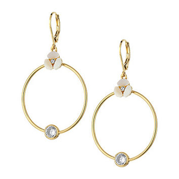 Kate Spade New York Special Occasion Drop Hoops