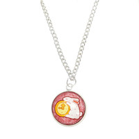 The White Rabbit Necklace - Twisted Pixies