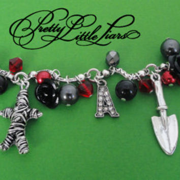 Pretty Little Liars Charm Bracelet
