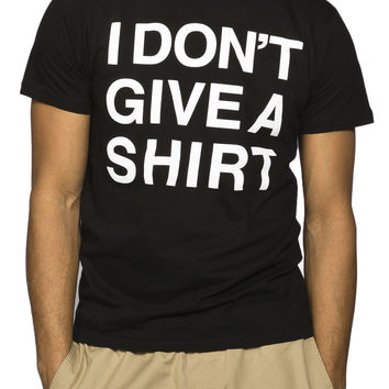 Guys 'Don't Give A Shirt' Graphic Tee