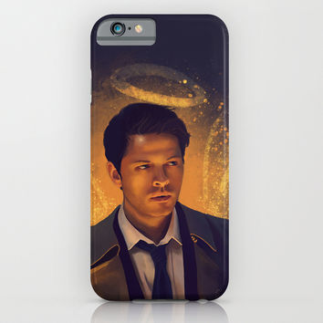 Castiel - Supernatural iPhone & iPod Case by KanaHyde