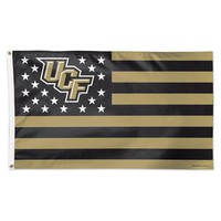 UCF KNIGHTS CENTRAL FLORIDA S AND STRIPES 3'X5' DELUXE FLAG NEW WINCRAFT