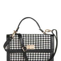 Houndstooth or Dare Bag | Mod Retro Vintage Bags | ModCloth.com