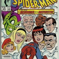 Comic Book Amazing Spiderman #274.