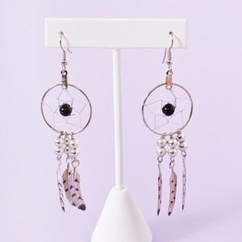 Dreamcatcher Earrings in Accessories Jewelry at Nasty Gal