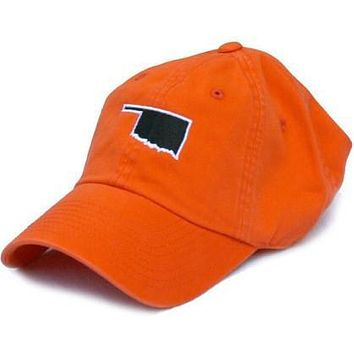 OK Stillwater Gameday Hat in Orange by State Traditions