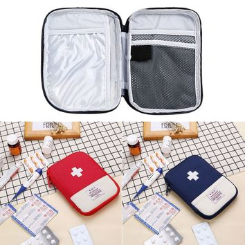 Outdoor Camping First Aid Emergency Medical Bag Medicine Drug Pill Box Home Survival Kit Storage Case Small supervivencia Pouch
