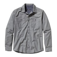 Patagonia Men's Long-Sleeved Chambray Workwear Shirt | Chambray: Classic Navy