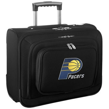 Indiana Pacers Carry-On Rolling Laptop Bag - Black - http://www.shareasale.com/m-pr.cfm?merchantID=7124&userID=1042934&productID=540319573 / Indiana Pacers