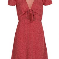 Spot Cut Out Tea Dress - New In This Week - New In