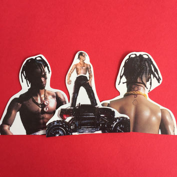 Travis Scott Sticker Set