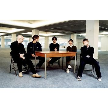 Radiohead poster Metal Sign Wall Art 8in x 12in
