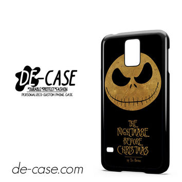 The Nightmare Before Christmas By Tim Burton For Samsung Galaxy S5 Case Phone Case Gift Present YO