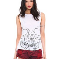 Twisted Skull Muscle Tank - Clothes | GYPSY WARRIOR
