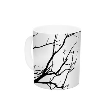 "Skye Zambrana ""Winter"" Ceramic Coffee Mug"