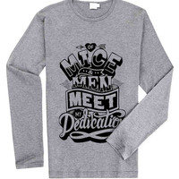 Of Mice and Men for Long Sleeved Mens and Long Sleeved Girls T Shirt