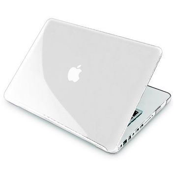 Insten Snap-On Case for Apple MacBook Pro 13-inch, Clear (PAPPMCBKCOC5)