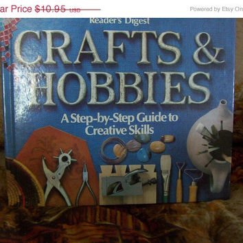 ON SALE Reader's Digest Crafts & Hobbies Book - A Step by Step Guide to Creative Skills