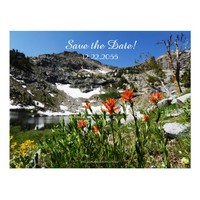 Save the Date 30th Anniversary Announcement Postcard