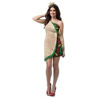 Taco Dress Costume - Adult (Beige/Khaki)