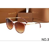 GUCCI 2018 men and women trendy sunglasses F-ANMYJ-BCYJ NO.3