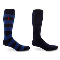 Polo Ralph Lauren Big & Tall Rugby Socks 2-Pack