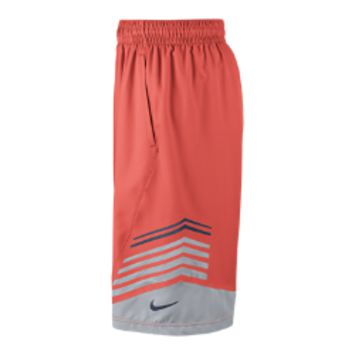 Nike Hyper Elite Title Men's Basketball Shorts - Bright Mango