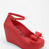 Urban Outfitters - Mel By Melissa Shoes Toffee Bow Platform Wedge