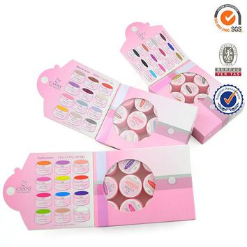Cheap 36PCS CANNI soak off Pure Color LED UV Gel Nail Art Salon 5ml gel nail Polish Manicure Painting Varnish nail gel Kit set