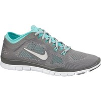 Nike Women's Free 5.0 TR FIT 4 Training Shoe - Grey/Blue | DICK'S Sporting Goods