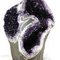 Double Chamber Amethyst - Rockology
