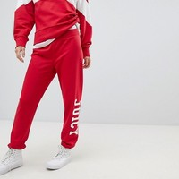 Juicy By Juicy Couture Logo Cuffed Trackpant at asos.com
