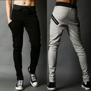 Pants Stylish Korean Slim Sportswear [6533775815]