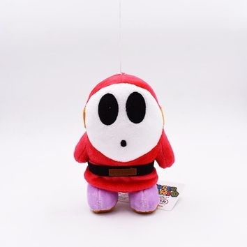 Super Mario party nes switch 2017   15cm  Plush Shy Guy Anime Plush Stuffed Toy Doll  Plush Shy Guy Great Gift For Christmas AT_80_8