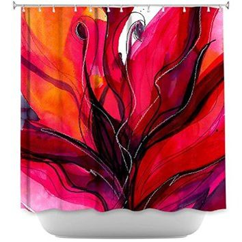 Dianoche designs shower curtains by arist from amazon for Funky home decor accessories