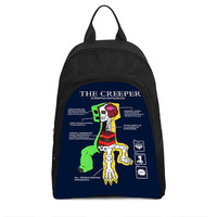 The Creeper Creepus Explodus Gamer Casual Backpack