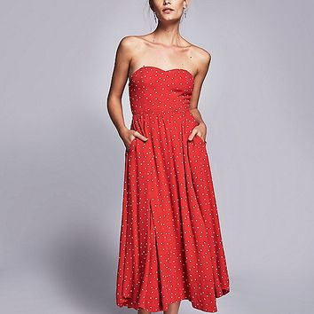 Free People Bella Donna Printed Dress at Free People Clothing Boutique