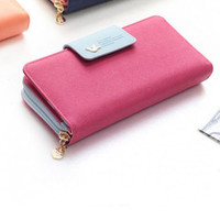 Zipper Clutch Long Wallet