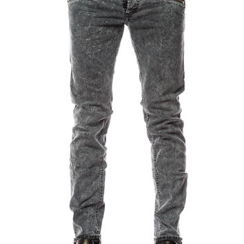 Diesel Sleenker Zip 842J Black Denim