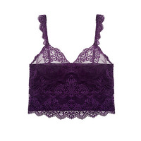 So Fine with Lace Cropped Cami