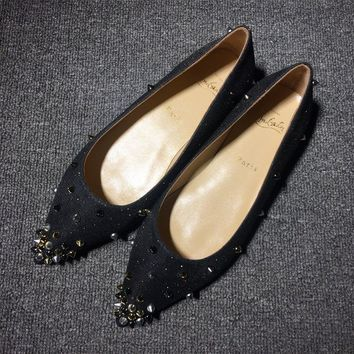 Cl Christian Louboutin Flat Style #720