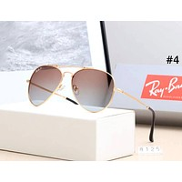 Ray-Ban street fashion men and women models large frame retro driving polarized sunglasses #4