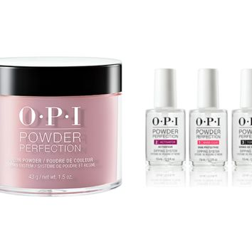 OPI - Dip Powder Combo - Liquid Set & You've Got That Glas-glow